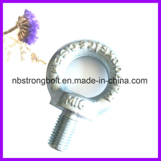 C15e o C15 Material de acero DIN580 Lifting Eye Bolt / China eye perno de fábrica, China fabricante de perno de ojo